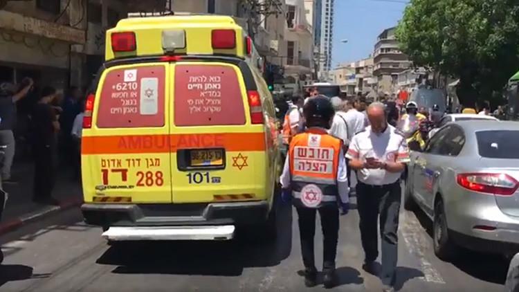 Un vehículo atropella a varios peatones en Tel Aviv en la víspera de la llegada de Trump