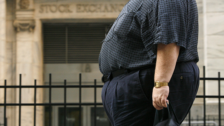 Estos son los Estados con más obesos del mundo (gráfico)