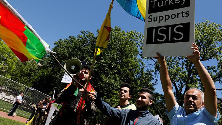 Turquía convoca al embajador estadounidense después de protesta ante visita de Erdogan a EE.UU.