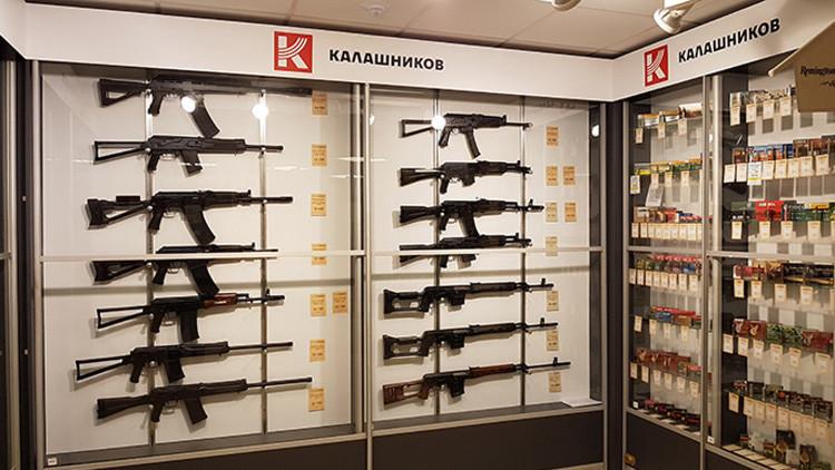 Kaláshnikov presentará un nuevo fusil de precisión