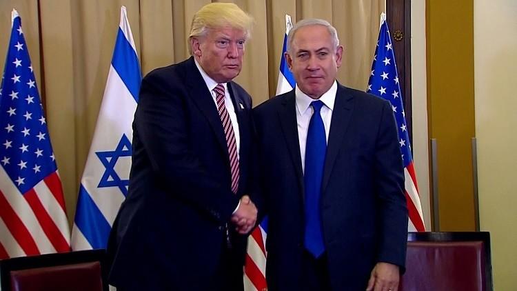 VIDEO: El incómodo momento en que Trump se niega a darle la mano a Netanyahu
