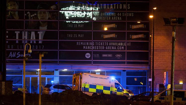 Graban el momento exacto de las explosiones en Mánchester (VIDEO)