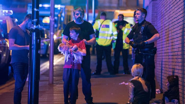 Pánico y gritos: Los primeros videos del atentado en Manchester Arena
