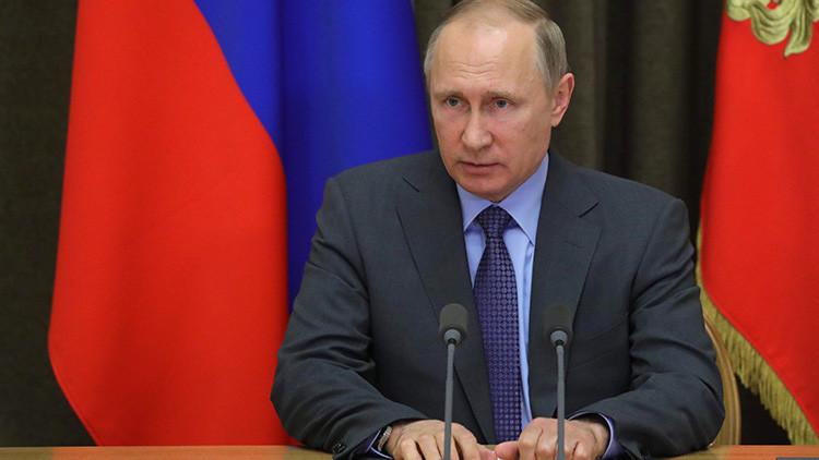 Putin expresa sus condolencias a Theresa May por el atentado de Mánchester