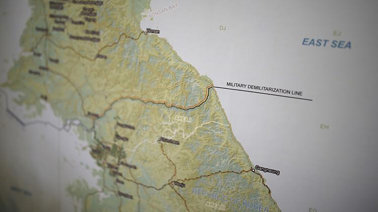 """Un """"objeto no identificado"""" atraviesa la frontera de Corea del Sur desde la del Norte"""