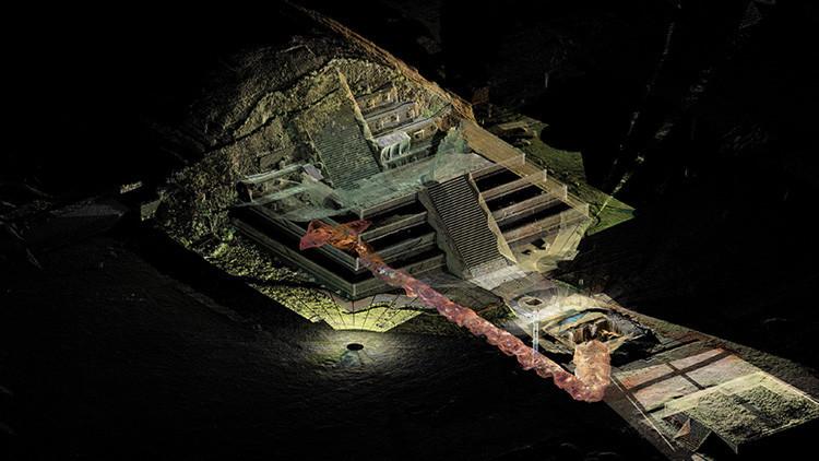 El antiguo túnel que multiplicó los misterios de Teotihuacán, la ciudad prehispánica de los dioses