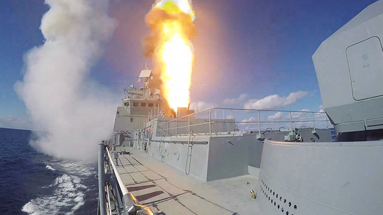 Rusia dotará masivamente a sus buques de guerra con misiles de crucero