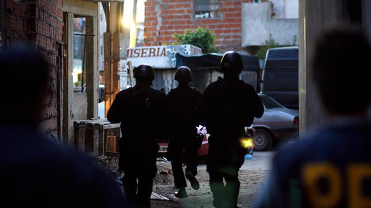 Detenido en Argentina 'El Lágrima', conocido como el 'narco de la ametralladora' (FOTOS Y VIDEOS)
