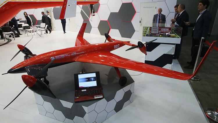 Presentan el prototipo de un revolucionario convertiplano no tripulado ruso