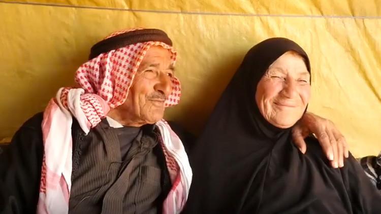 Amor y desamor en plena guerra: Una pareja siria cuenta su entrañable historia