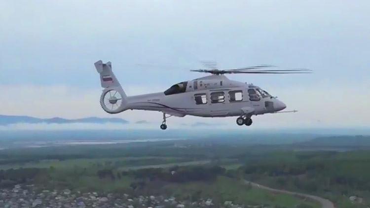 VIDEO: El primer vuelo del nuevo helicóptero ruso Ka-62
