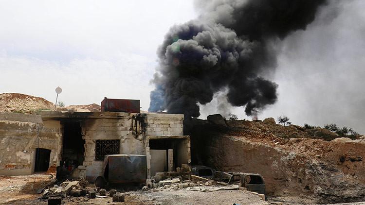 Al menos 35 personas mueren en Siria en un bombardeo de la coalición liderada por EE.UU.