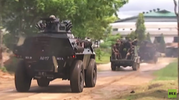 Así se lleva a cabo la operación antiterrorista en Filipinas (VIDEO)