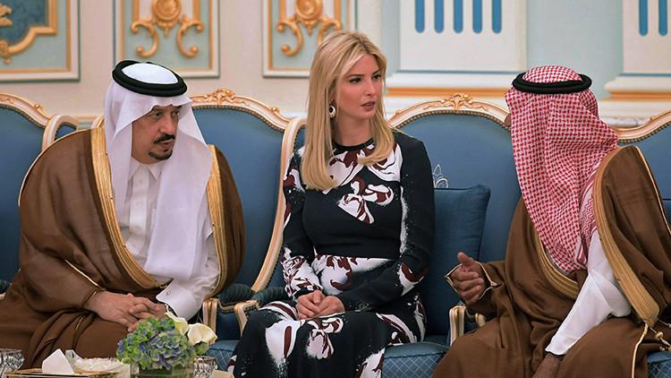'Ivanka bint Trump': Ivanka causa furor en Arabia Saudita