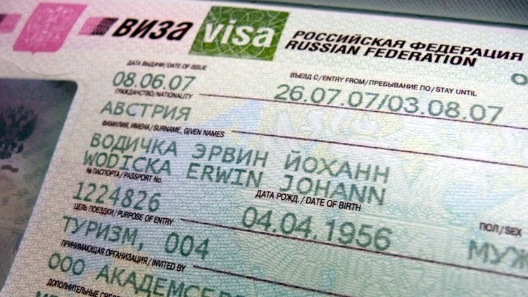 Rusia introduce un tipo nuevo de visado