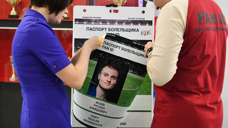 Rusia emite 100.000 pasaportes Fan ID para la Copa Confederaciones