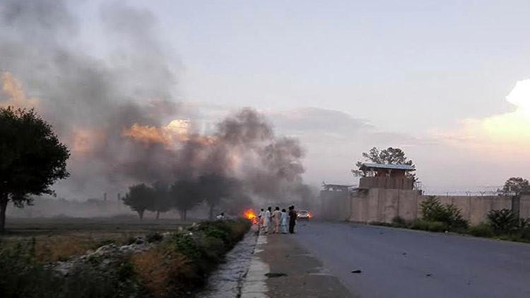 Ataque suicida en la Sede de las Fuerzas Especiales en Afganistán (Fotos)
