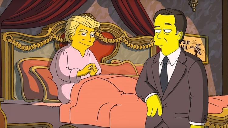 'Los Simpson' revelan dónde guarda Trump las cintas que comprometen al exdirector del FBI