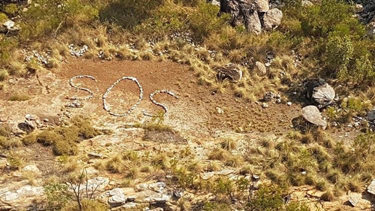 SOS: Misterioso mensaje de socorro en una remota zona de Australia desconcierta a la Policía