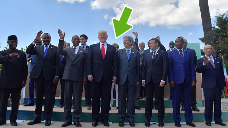 Fallo de protocolo del G7: 'Borran' a Merkel de la foto final