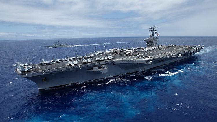 EE.UU. envía un tercer portaviones al Pacífico para contener a Pionyang