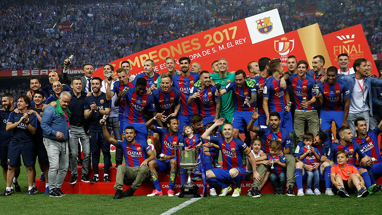 El FC Barcelona gana la Copa del Rey