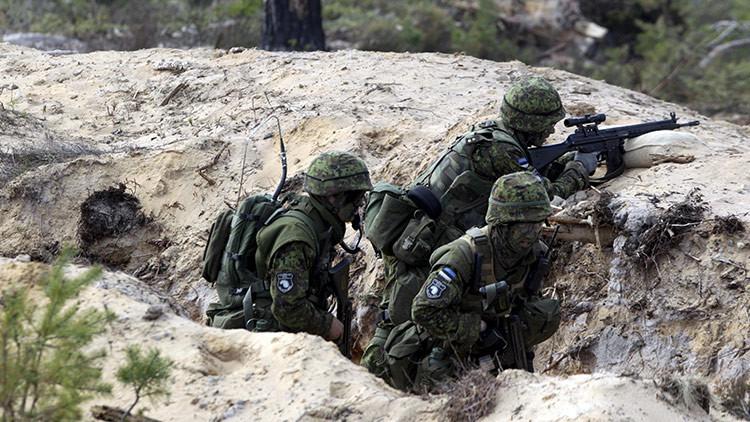 La OTAN inicia una serie de maniobras militares a unos 35 kilómetros de la frontera rusa (VIDEOS)