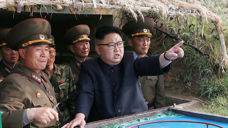 Corea del Norte prueba un nuevo sistema de defensa antiaérea