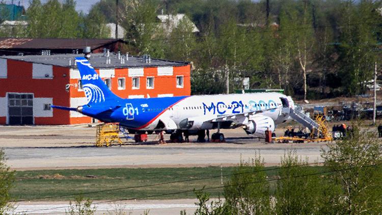 Más barato y más ecológico: ¿Qué sabemos del avión MS-21 con el que Rusia reta a Airbus y Boeing?