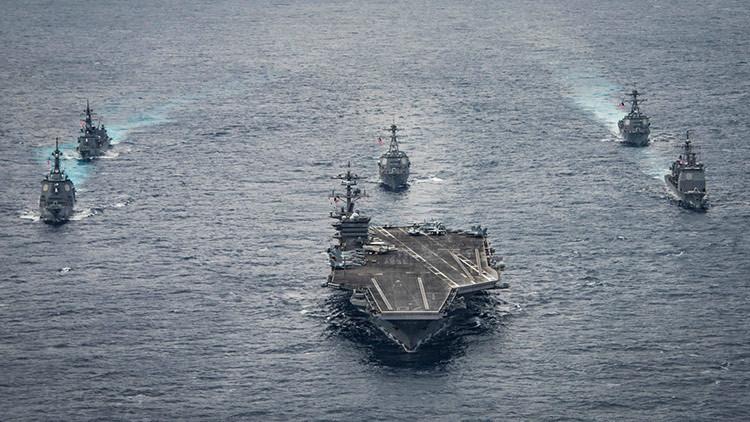 El portaviones USS Carl Vinson regresa a EE.UU. tras cumplir su misión en aguas coreanas