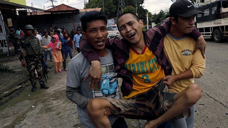 Yihadistas vinculados al EI ejecutan a civiles que huyen de los enfrentamientos en Filipinas (VIDEO)