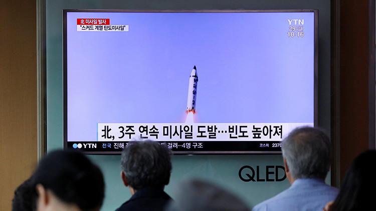 Corea del Norte probó con éxito misil balístico