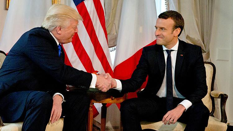 ¿Qué nos dice la fuerza del apretón de manos de Donald Trump?
