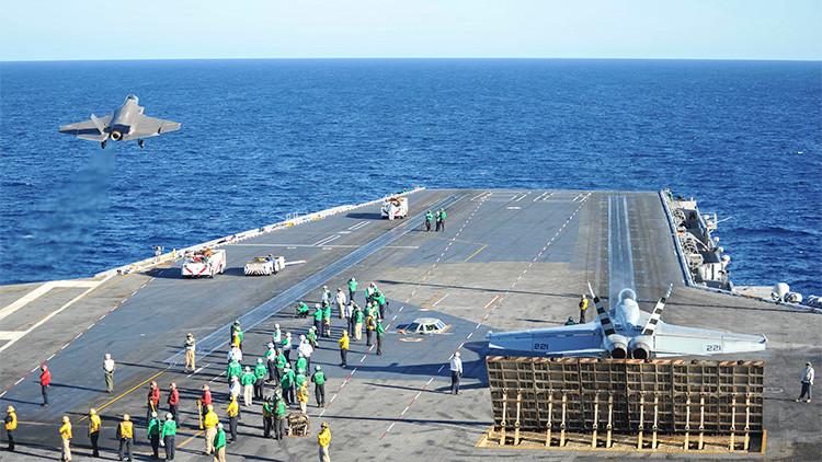 Analistas de EE.UU. sugieren que sus portaaviones pierden su razón de ser