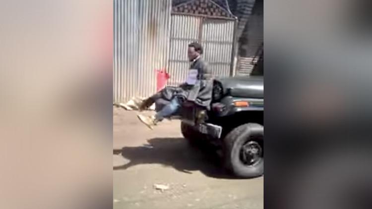 """""""Hay que innovar"""": El jefe del Ejército indio defiende al soldado que utilizó un escudo humano"""