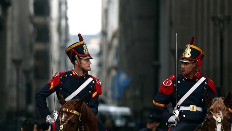 El insólito error durante un desfile militar en Argentina