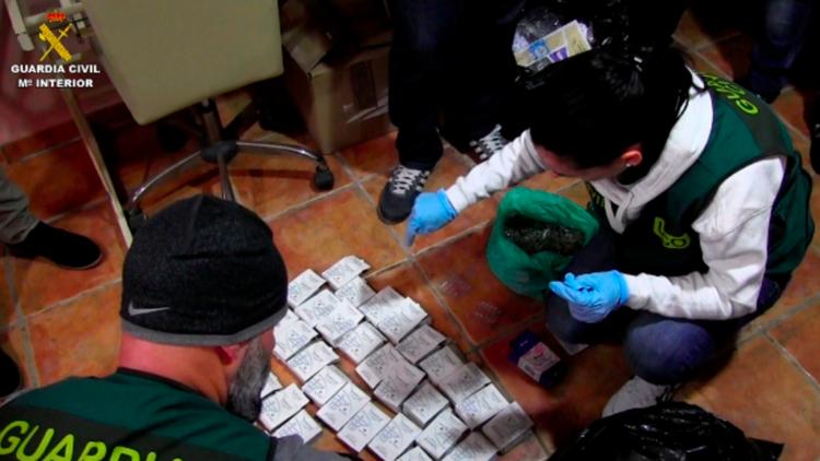 VIDEO: Desarticulan la mayor organización de tráfico de anabolizantes y esteroides de Europa