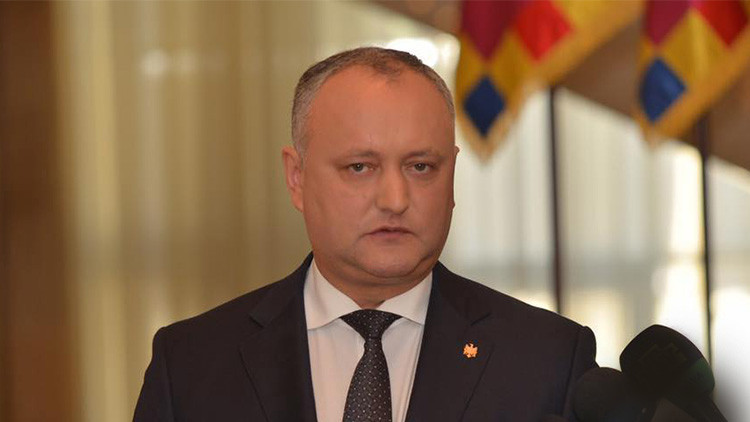 Presidente moldavo pide a Rusia resistir a provocación de la expulsión de sus diplomáticos del país