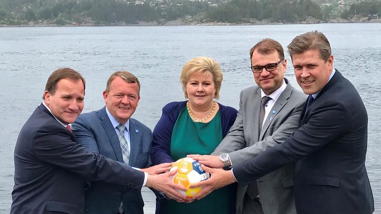 ¿Quién domina al mundo?: Primeros ministros de los países nórdicos se mofan de una foto de Trump