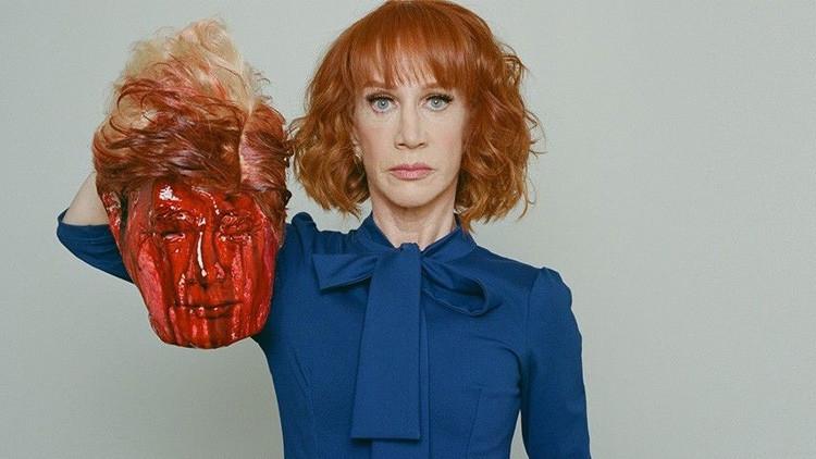 Una foto con la 'cabeza decapitada' de Trump llama la atención del Servicio Secreto de EE.UU.