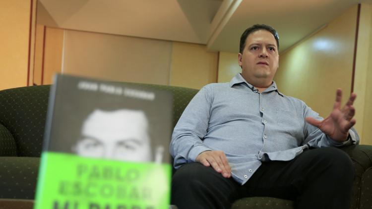 Hijo de Pablo Escobar insta a terminar la guerra armada contra las drogas