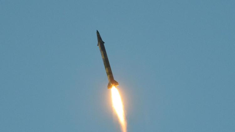 Difunden un video de la reciente prueba de misil balístico de Corea del Norte