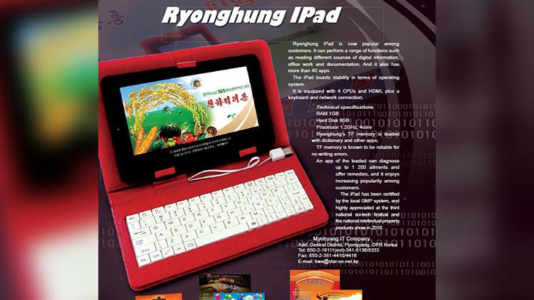 ¡Tiembla Apple! Corea del Norte estrena su propia versión pirata del iPad