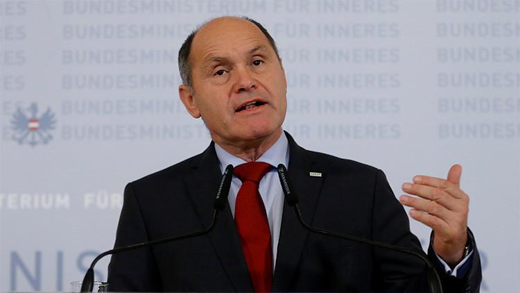 """Ministro austriaco llama """"especulación"""" a las acusaciones de intervención rusa en elecciones"""