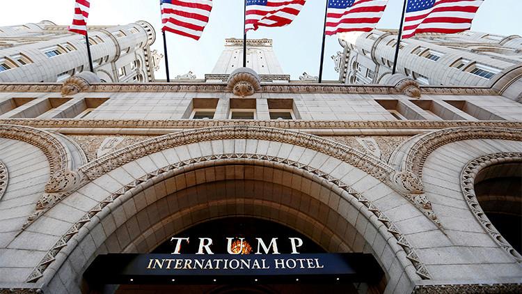 Detienen en un hotel de Trump a un hombre armado con una pistola y un fusil de asalto