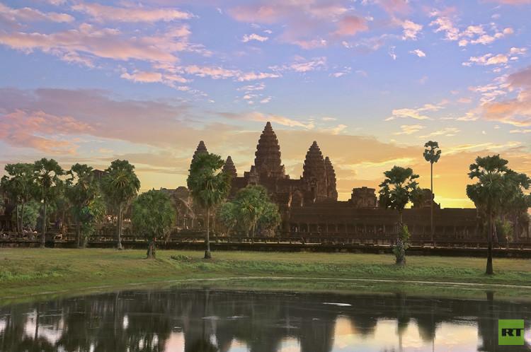 El conjunto de templos de Angkor Wat (Camboya).
