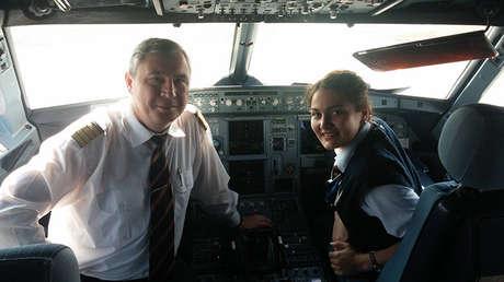 Andréi Litvínov, piloto de la aerolínea rusa Aeroflot