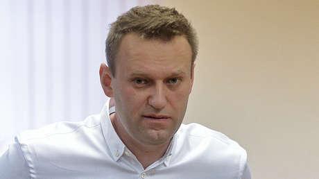 Alexéi Navalny, el 8 de febrero de 2017.