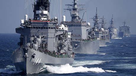 El destructor japonés Kurama, el 18 de octubre de 2015.
