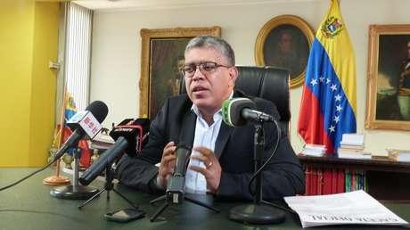 Elías Jaua Milano, presidente de la Comisión Presidencial Constituyente de Venezuela.